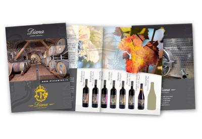 Diana Wines - Brochure per evento